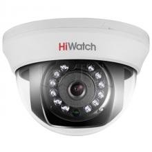 Купольная HD-TVI видеокамера HiWatch DS-T101