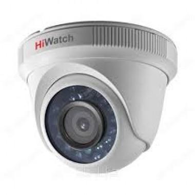 Купольная HD-TVI видеокамера HiWatch DS-T111