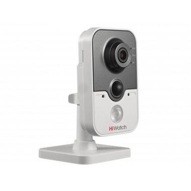 Кубическая IP видеокамера HiWatch DS-I214W